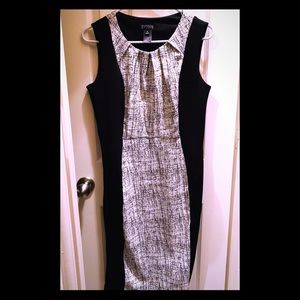 🔥Black and white classic dress